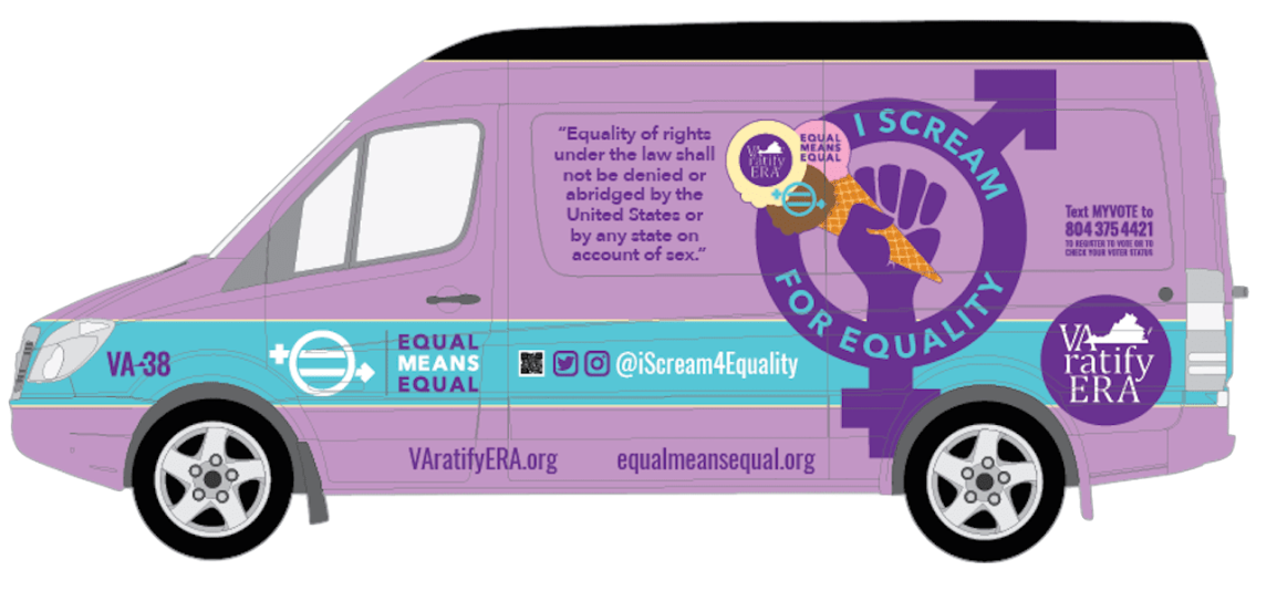 I Scream for Equality in Virginia!