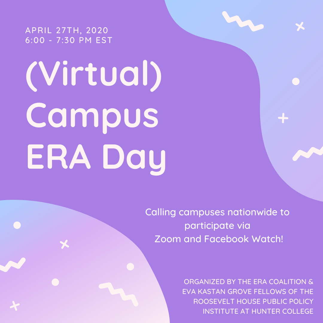 Join us for Campus ERA Day Monday April 24, 2020
