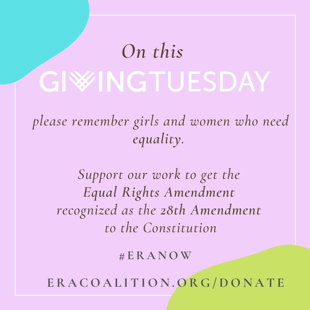 #GivingTuesdayforEquality