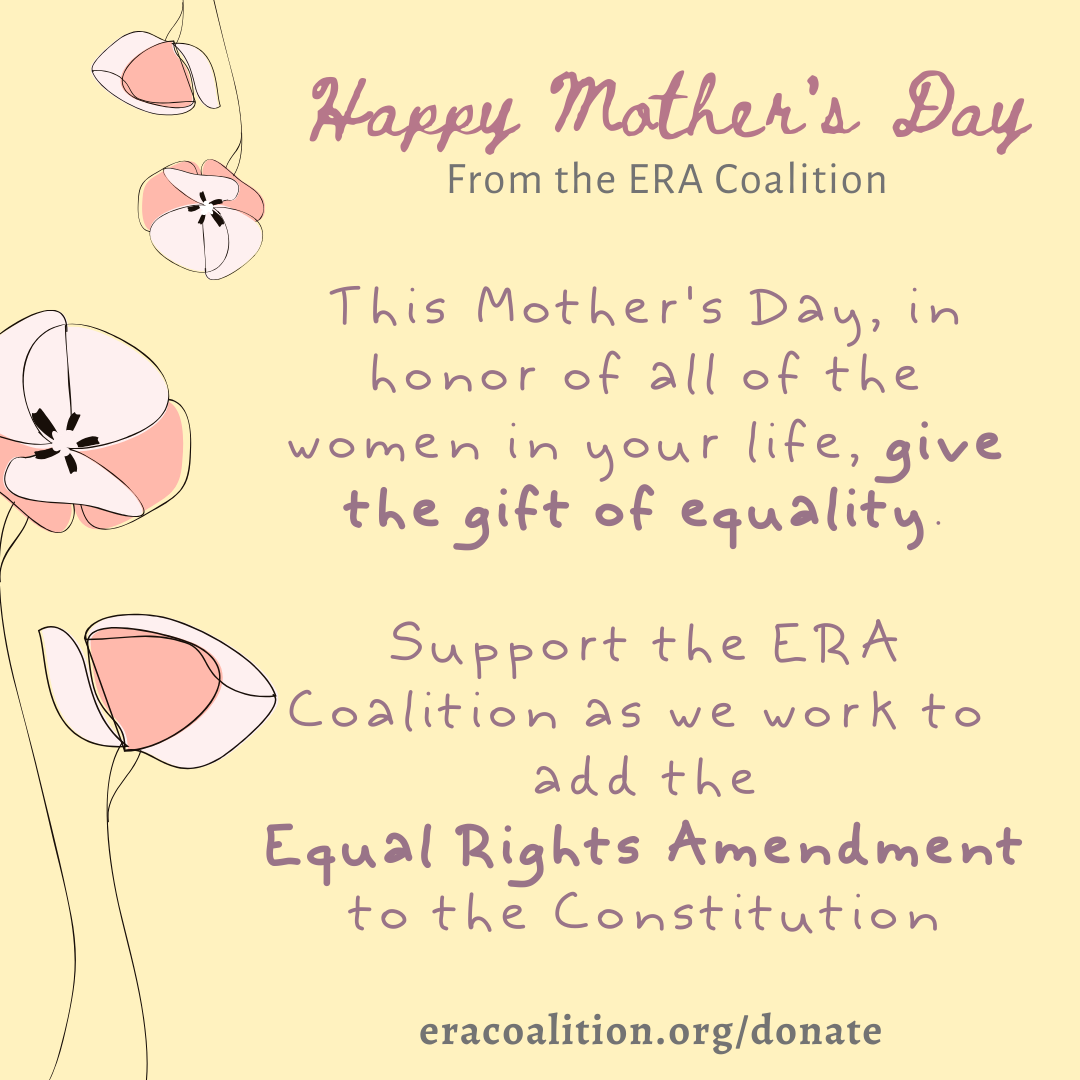 Equality – The Perfect Mother's Day Gift!