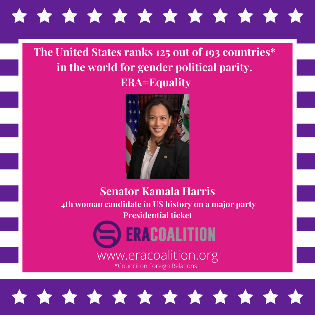 Breaking News: Senator Kamala Harris Announced as 4th Woman Ever on Major Party Presidential Ticket