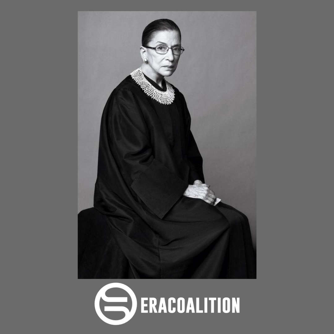 Honor RBG as you watch the Senate hearings