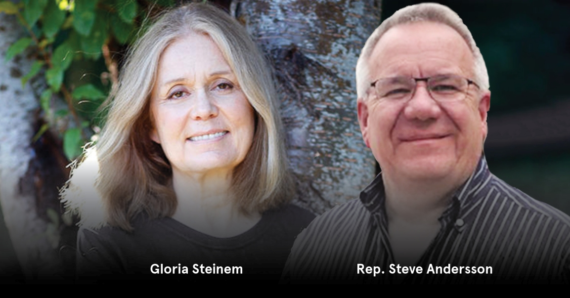 A joint OpEd by Gloria Steinem and SteveAndersson